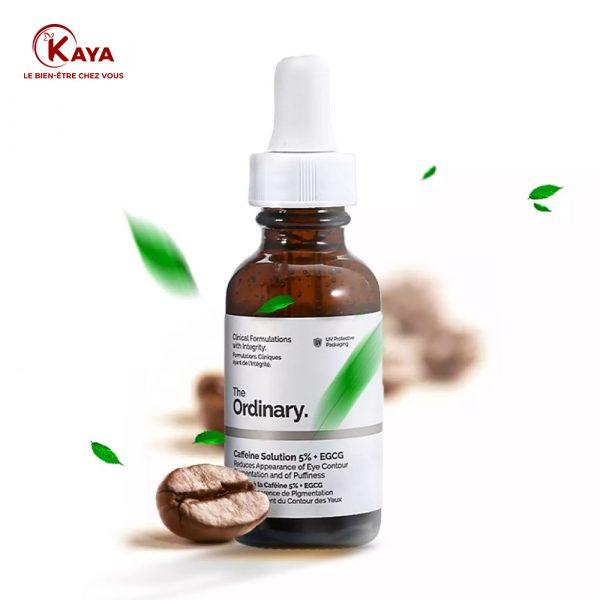 Solution caféine anti cernes et contour des yeux 5%+EGCG