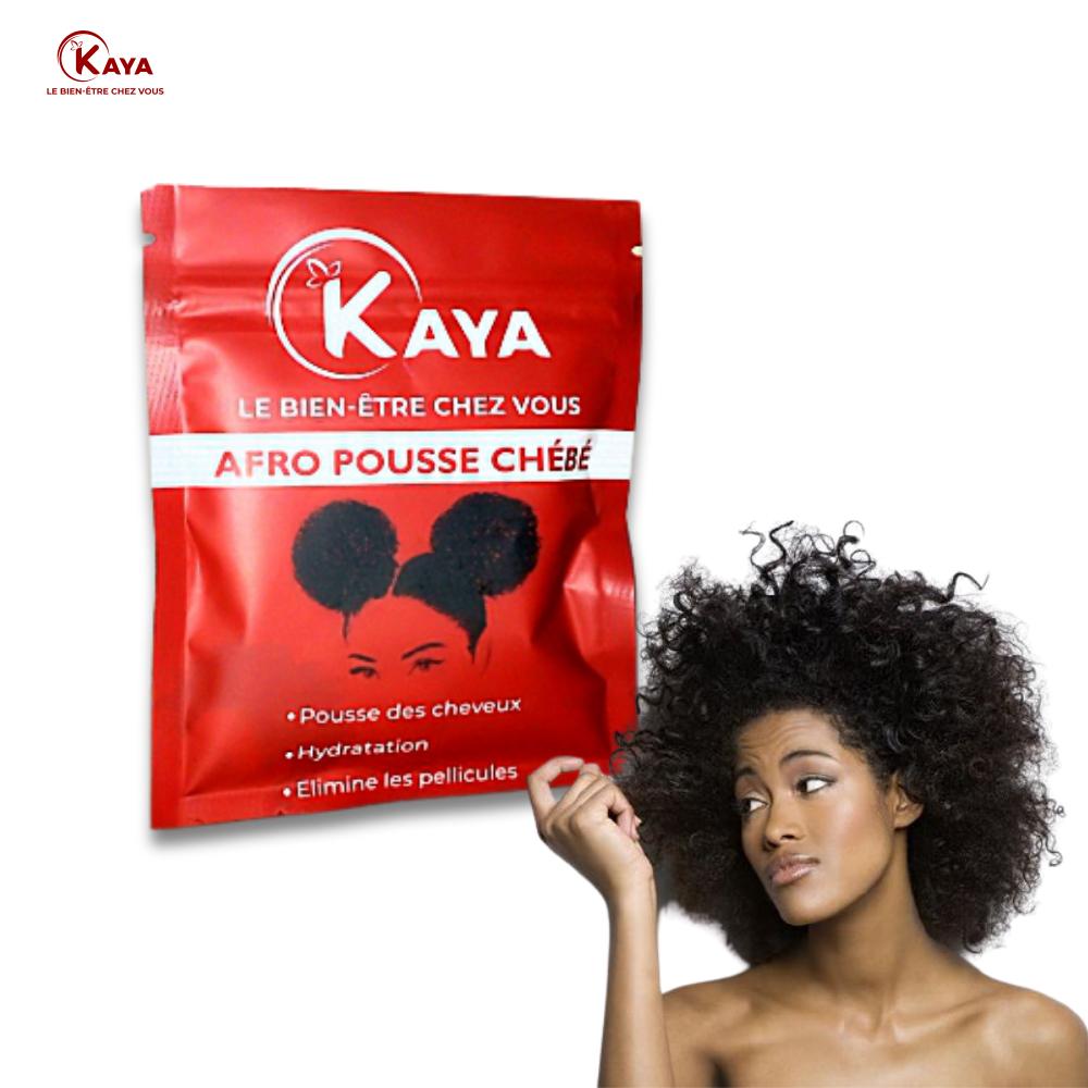 Poudre de Chébé Traitement de Cheveux Afro Pousse Chébé cheveux longs